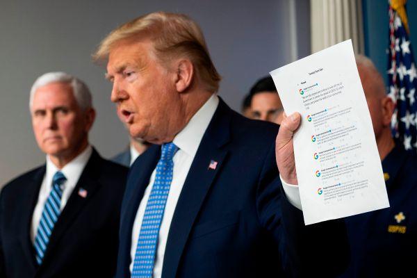 Doctor says Trump tests negative for coronavirus