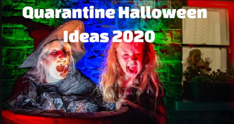 Halloween in Lockdown ideas