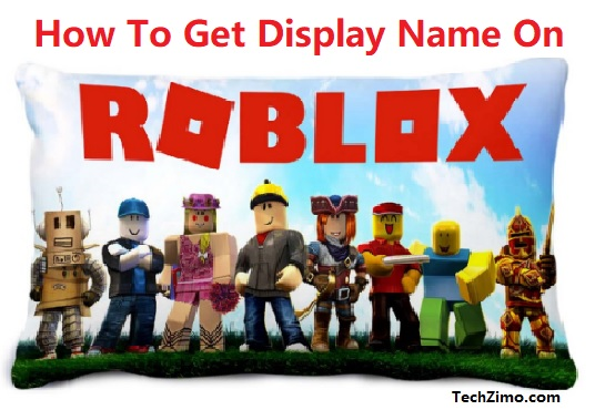 Steps to get display name on Roblox