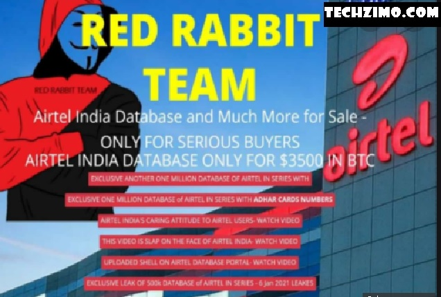 Airtel Biggest Controversy: Data of 25 lakh Airtel Customers Leaked!!