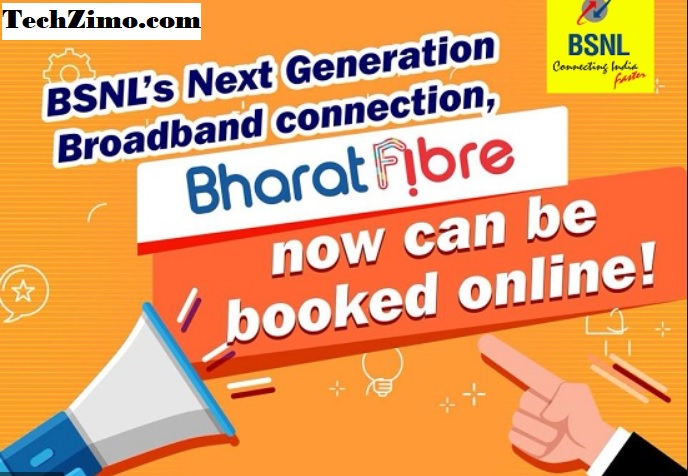 How To Book BSNL FTTH Connection