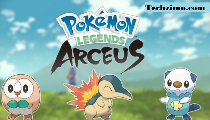 Pokemon Legends Arceus game
