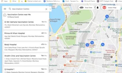 MapMyIndia App Shows Covid-19 Vaccination Centres Near Your Home