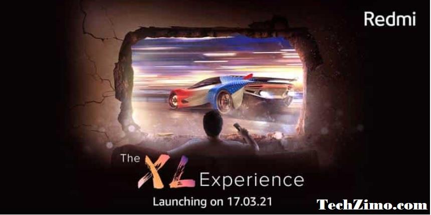 Xiaomi first Redmi TV.
