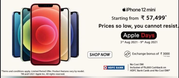 Apple Days sale