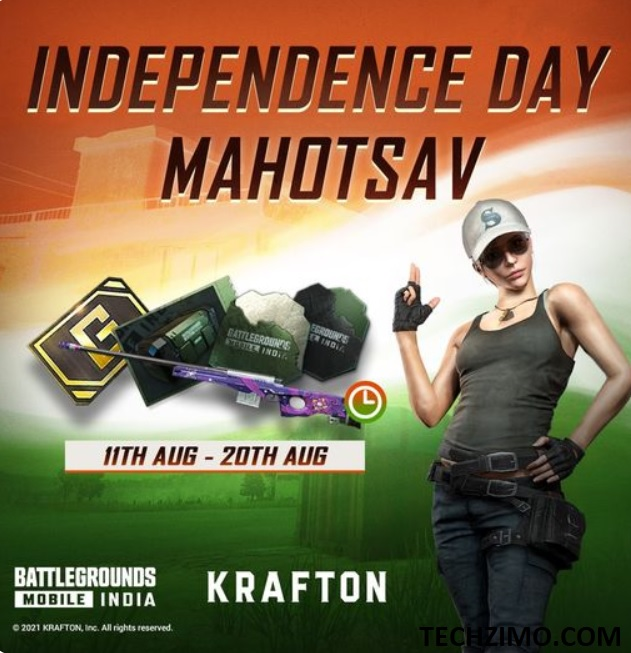 BGMI Independence Day