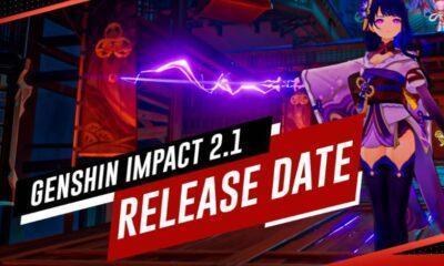 Genshin Impact 2.1 update