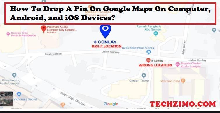 Drop A Pin On Google Maps