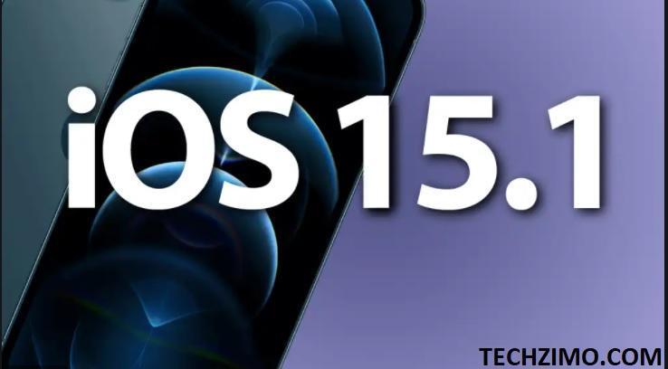 iOS 15.1 update